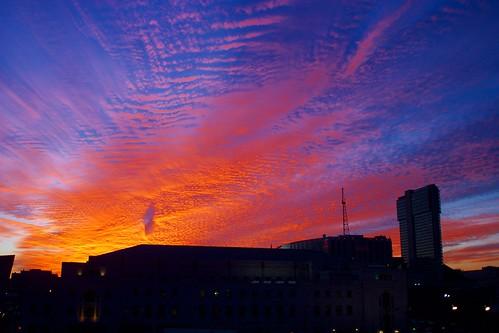 Symphony Hall Sunset