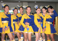 Cute and Charming Majorettes of Rizal
