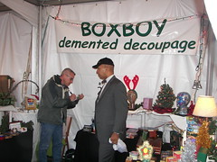 Mayor Williams shopping at the Downtown Holiday Market