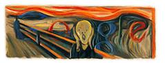 Edvard Munch Google Logo