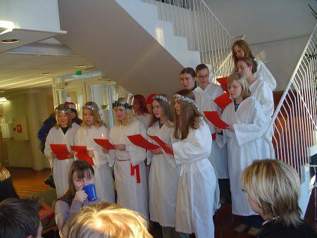 Fiesta de Santa Lucía en los países nórdicos
