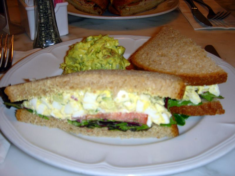 Egg Salad with Dill