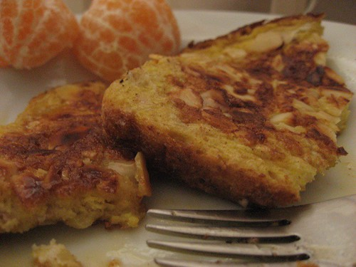 French Toast and Oranges
