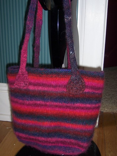 Felted Bag for Grandma 2