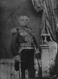 El Catire Páez, fotografía de Lessmann y Laue, 1859-1863