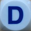 Boggle Letter D