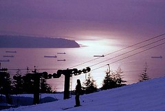 Grouse Mountain-Sunset  Views (日落看法) photo by iano50