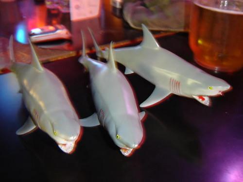 Shark trio.