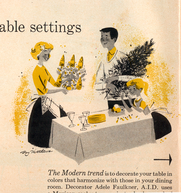 Christmas Ideas: Table settings