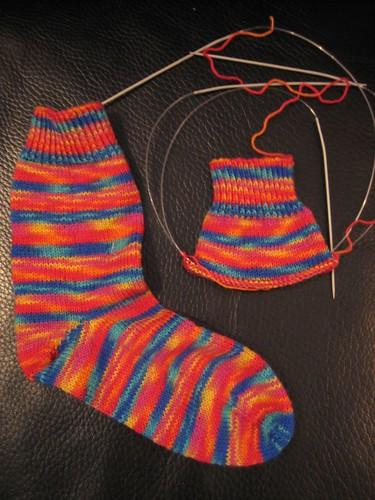 Mireia's socks