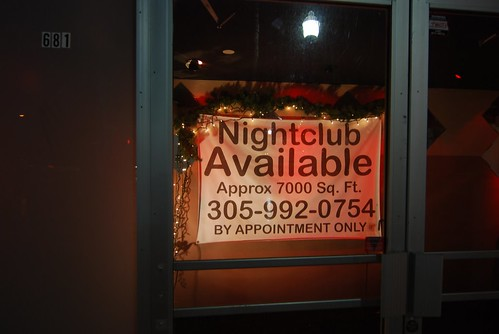 Who wants to open a nightclub?