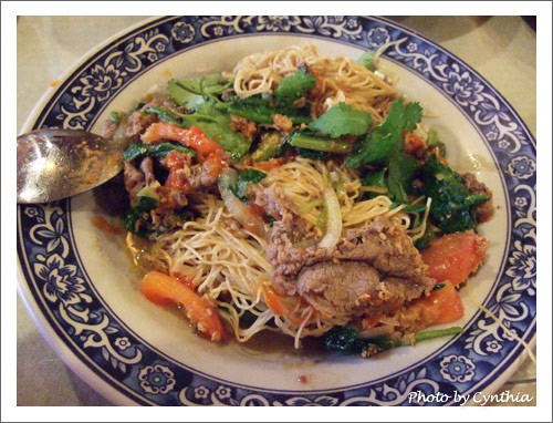 牛肉越式炒麵
