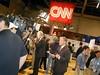 CNN National Correspondent John King in the Spin Room