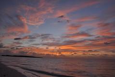 Sunrise at Eef Beach #13 -朝焼け@イーフビーチ- photo by mukarin