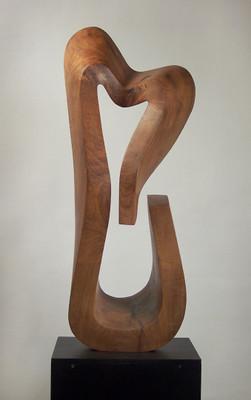 Pin esculturas de madera on pinterest - Esculturas de madera abstractas ...