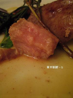 小牛肉佐蜂蜜醬汁