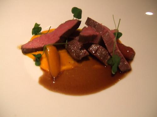 Manresa (Los Gatos) - Beef Rib-eye w/ Carrots