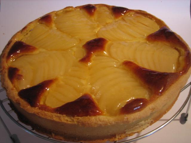 baking school tarte bourdaloue recette