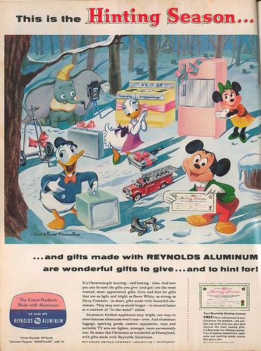 Reynolds Aluminum & Disney ad