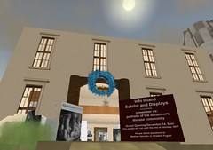Alzheimer's Exhibit in Second Life - Entrance