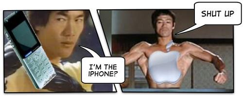iPhone을 둘러싼 힘겨루기