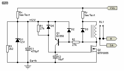 Soft-Start Circuit For Power Amps