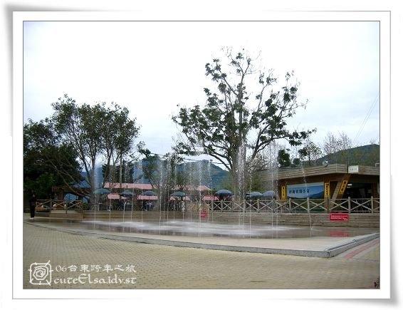 台東初鹿牧場-噴水池