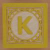 Block Letter K