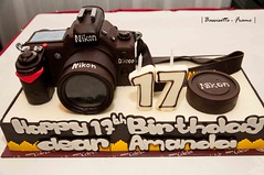 Nikon D7000 Birthday Cake photo by Bassisette
