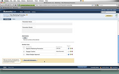 Creating a process automation in IBM Blueworks Live