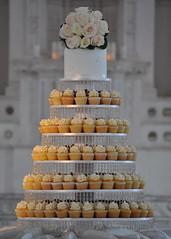 Wedding Cupcake Tower photo by jdesmeules (Blue Cupcake)