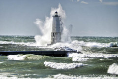 Frankfort LIght ... the Blow! photo by Ken Scott