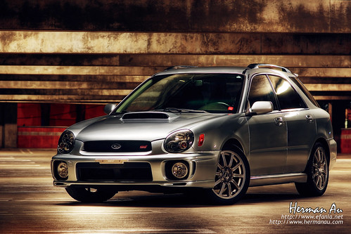 WRX STi wagon (by hermanau)