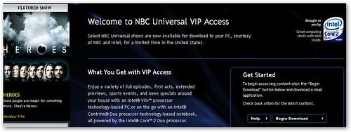 nbc vip access