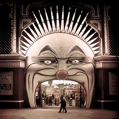 Melbourne / Circus / Vintage photo by ►CubaGallery