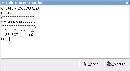 MySQLAdministratorEditStoredRoutine