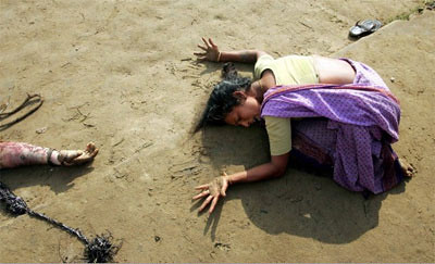 World Press Photo of the Year: 2004 by Arko Datta, India, Reuters