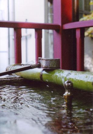 伊香保神社の手水舎