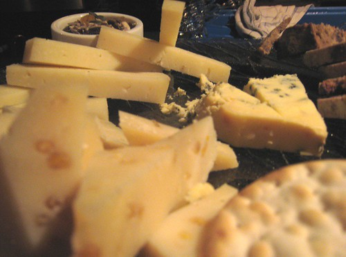 B-n-W Cheese platter