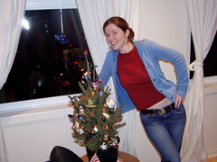 Meg and the tree