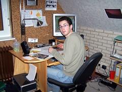 Dezember 06 am Schreibtisch