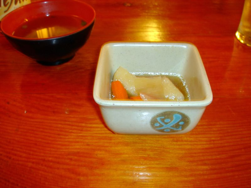 Samurai Castle - 2nd Course: Simmered Root Vegetables