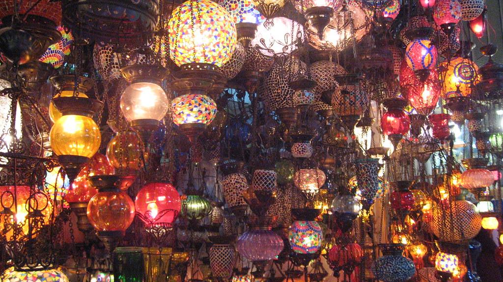 Gran Bazar, lámparas