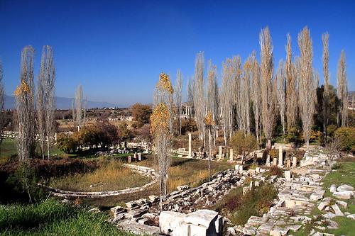 Aphrodisias古城一景