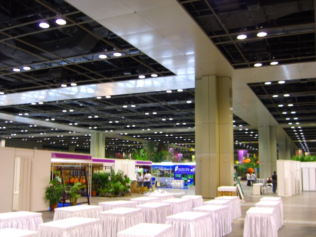 Shot of the exhibition hall, L4