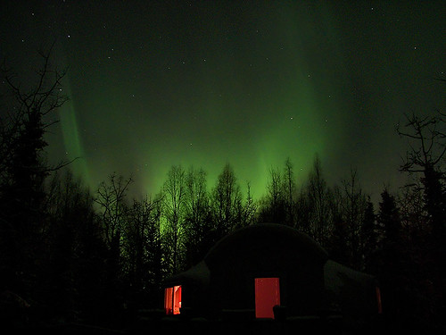 Auroras above our Dome