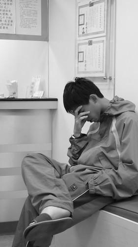 Patient of flu (by tenz1225)