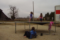 Aimee in Air Trampoline 121706