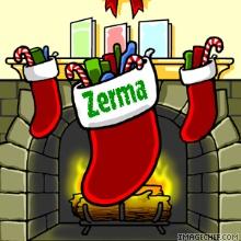 Mi bota navideña