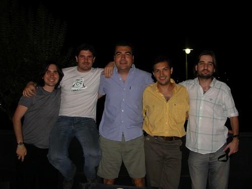 Darío, Fede, Lucas, Chelo, cHagHi